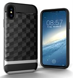 Nice Cube Hard Case til iPhone X - Sølv