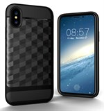 Nice Cube Hard Case til iPhone X - Sort