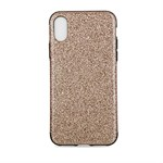 Shine Bling Cover i TPU plast til iPhone X - Guld