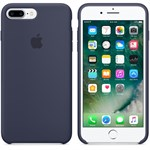 Silikone cover iPhone 6 Plus / iPhone 6S Plus - Navy Blå