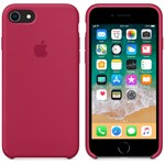 Silikone cover iPhone 7 Plus / iPhone 8 Plus - Navy Red
