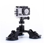 Triple Sugekop mount til GoPro HERO