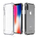 Nice Safe Cover i TPU plast til iPhone X - Hvid