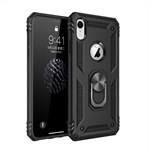 Luxury CaseMe Flap pung iPhone XR - Sort