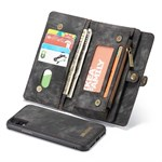 Luxury CaseMe Flap Etui til iPhone XR - Brun