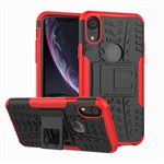 Luxury CaseMe Flap pung iPhone XR - Brun