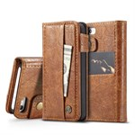 CaseMe  Luxury Etui med Cover - iPhone 5/5S/SE - Brun