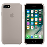 Silikone cover iPhone 7 / iPhone 8 - Grå