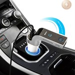 Multifunktionel Bluetooth Biloplader/FM Transmitter
