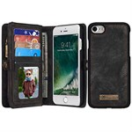 Luxury CaseMe Flap Etui til iPhone 7 Plus - Sort