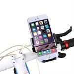 HAWEEL Roterende iPhone cykel/mc holder 49mm-75mm