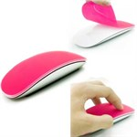 Apple Magic Mouse - Silikone beskyttelse (Magenta)