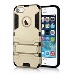 iPhone 5/5S Plastik cover nr 2 - Guld