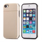 iPhone 5/5S Plastik cover nr 1 - Lyse Guld