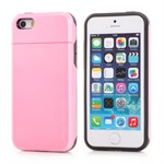 iPhone 5/5S Plastik cover nr 1 - Pink