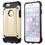 iPhone 5/5S/SE Plastik cover nr 4 - Guld