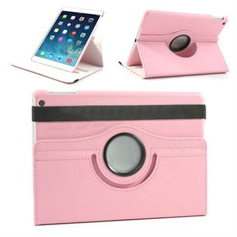 iPad 9.7 2018 Roterende etui - Baby Pink