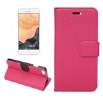 Fancy Flip Etui til iPhone 7 - Pink