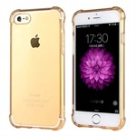 Protection Silikone Cover til iPhone 7 - Guld
