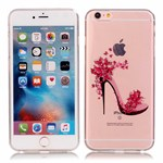 See thru silikonecover m. design iPhone 6/6s - Ladylike