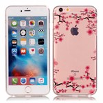See thru silikonecover m. design iPhone 6/6s - Blossom